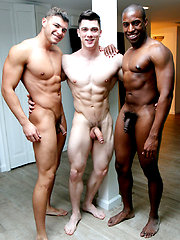 3-Way FUCK: Alex Griffen Bottoms for Collin Simpson and Tyler Smith